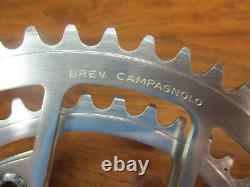Vintage Campagnolo 170l 116 Bcd 53/42t Crank Set & English Bottom Bracket