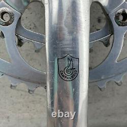 Vintage Campagnolo Crank Set 170 mm 53 39 Double Square Taper Road Bike