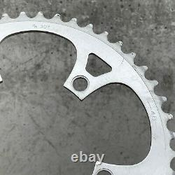 Vintage Campagnolo Crank Set 170 mm 53 39 Double Square Taper Will Separate