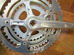 Vintage Gipiemme 170l 55/45/32t 170l 42t Tandem Square Taper Crank Set