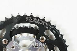 Vintage Race Face Forged Silver Crank Set MTB Bike 170mm Triple Chain Ring