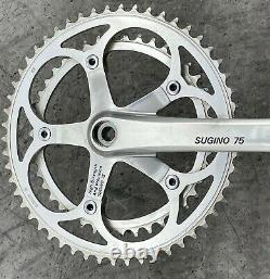 Vintage Sugino 75 Crank Set 170mm Old Logo 1986 Schwinn Peloton