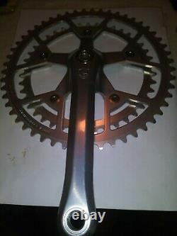 1985 Campagnolo Victory Crank Set 52 / 42 X 170 X 116 MM Drive Side W Extractors