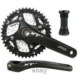 7/8/9 Vitesse 22/32/44t Triple 64/104bcd Mtb Bike Chainset Chainring Crank Set Bb