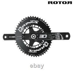 Black Friday Rotor 3d30 Crank Set Bcd110x5 170mm Avec Ensemble De Chaîne 50/34t