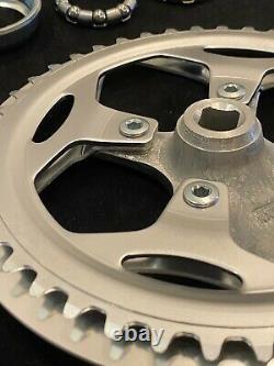 Bmx Sugino Impel 44t 170mm Cranks Single Track Chainring With Bb Set Nos