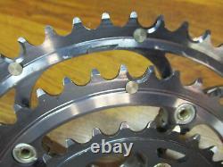 Campagnolo Centaur Square Taper 175 10 Speed Triple 52/42/30 Crank Set Décollage
