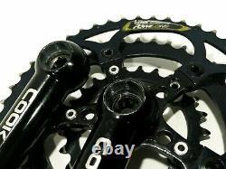 Cook Brothers Racing Rsr Crankset 176mm Top Zustand Noir 46-36-24 Suntour Kb