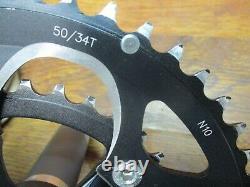 Fsa Bb Droit 172.5l 50/34t Pf30 / Bb30 Crank Set & Bottom Bracket Noir