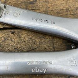 Gary Fisher Crank Set Vintage Sugino Rare 175mm 110 74 Bcd Mtb Triple