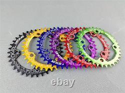 Mtb Road Bike Cnc Crankset Bcd104 Crank Arm Bottom Bracket Chaîne Ensemble Cyclisme