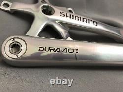 Nice (nos) Shimano Dura Ace Fc-7701/7703 Jeu De Manivelle Kurbelgarnitur 175 Octalink