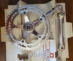 Nos Campagnolo C Manivelle Record Set 180mm 80s 53/42 Dent