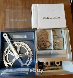 Nos Dura- Ace Crank Bottem Bracket & Cassette Set Old Stock New 53/42