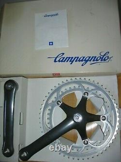 Nos Nib Campagnolo C-record Century Kurbeln Crankset 172,5 MM Bnib En Boîte