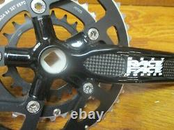 Nos Race Face Next Forged 175l 44/32/22t Carré Taper Triple Crank Set Black