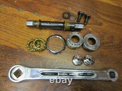 Nos Vintage Ta Specialites 170l 50/42/36t Triple Square Taper Crank Set T/o's