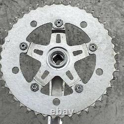 Old School Bmx Super Maxy Bike Crank Set Izumi Chain Pedals Mongoose Gt Hutch