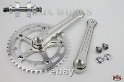 Probmx Bmx 3 Piece Aluminium Cranks Set Yst Sealed Bottom Bracket MIX & Match
