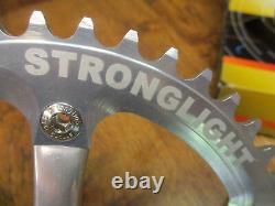 Rare Nos Stronglight Mygal 130 Bcd Cnc 46t Track Crank Set