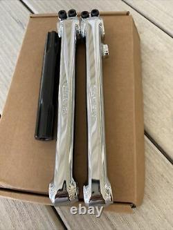 Red Line Flight Tubular Chromo Crank Arm Set Bmx Old School Cranks Redline 180mm