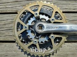 Retro Middleburn Rs-7 Crane Set Or Noir Argent 44 34 24
