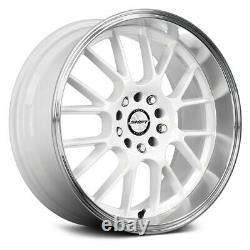 Shift Crank Wheels 18x8.5 (30, 5x120.65, 73.1) Jeu De Jantes Blanches De 4