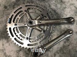 Shimano 600 Arabesque Road Bike Crank Set 170mm 52-42 Double One Key Caps