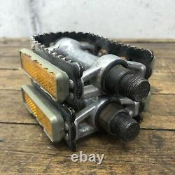 Shimano Crank Set 600 Vintage 42t 170mm Fc-6207 Square Wolf Tooth Old Bmx Road