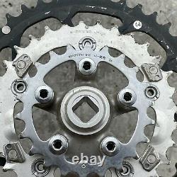 Shimano Deore Xt Crank Set Fc-m737 175 MM 44 32 22 Chaîne Vintage Triple Mtb