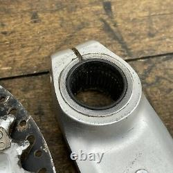 Shimano Deore Xt Crank Set Fc-m760 175mm 9 Speed Hollowtech Vintage Bbg