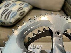 Shimano Dura Ace 7800 Crank Set, 180mm, 53/38 Gearing, Fc-7800, Avec Da Bb English