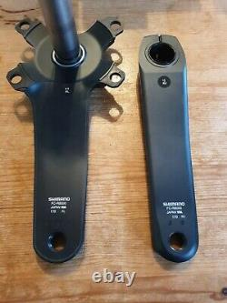 Shimano Ultegra Fc-r8000 170mm Crank Arm Set Fantastique État Difficilement Utilisé