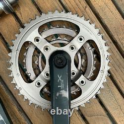 Shimano Xtr M950 175mm Crankings Crankset Avec Bas Crank Set Mountain Bike