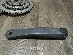 Shimano Xtr M952 175mm Crankset Avec Bas Crank Set Mountain Bike
