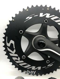 Spécialisée S-works Osbb 53/39 Aero 172.5mm Carbon Crank Set New Bike Take-off