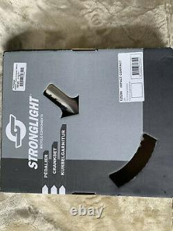 Stronglight Double Crank Set Impact Compact 110 Bcd Square Taper Jis 165 50/34