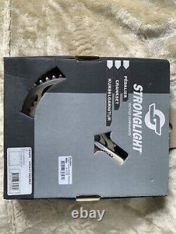 Stronglight Double Crank Set Impact Compact 110 Bcd Square Taper Jis 170 50/40