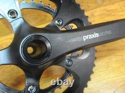 Travaux De Praxis Alba M30 128m Leva Time 172,5l 110 Bcd 52/36t Bb86 Crance Set -noir