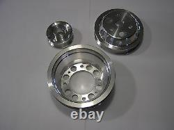 Ud Underdrive Crank Pulley Set S'adapte 04-08 Mazda Rx8 Rx-8 Renesis 1.3l Fe3s Turbo