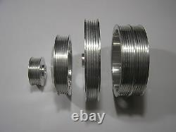 Ud Underdrive Crank Pulley Set S'adapte Celica Corolla Geo Prizm 4age Ae95 Ae101 Gsi