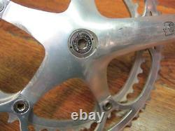 Vintage Campagnolo Record 172.5l 135 Bcd 53/42t Double Crank Set Hidden Bolt