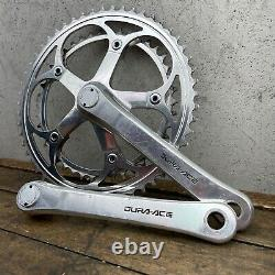 Vintage Dura Ace 7400 Cran Set Bras 172,5 MM Cranks 130 Bcd Shimano Road Bike