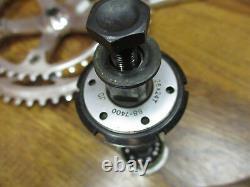 Vintage Dura Ace Fc-7400 170l 53/42t 130bcd Crank Set & Bb-7400 Italien