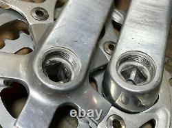 Vintage Industries Blanc 175mm 94/58 Bcd 42/32/22t Square Taper Crank Set