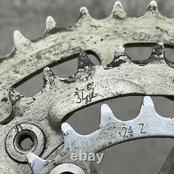 Vintage Sachs Crankset Triple Mtb Forged Mountain Bike 90s Rare Cran Set Grip