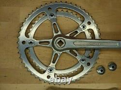 Vtg Suntour Superbe Road Bike Ensemble De Manivelle 170mm 52/42t 144 Bcd Avec Bouchons De Poussière I2